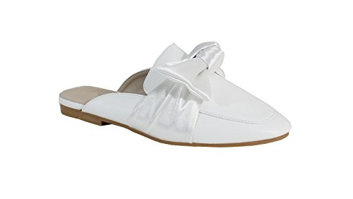 By Shoes - Zuecos para Mujer Blanco
