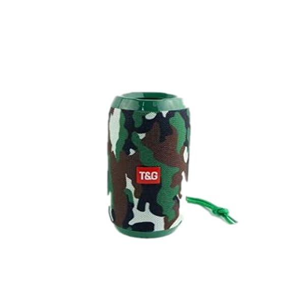Haut-Parleur Portable Bluetooth étanche Voyage en Plein airCamouflage Portable 160mmx68.8mm de Camouflage portatif extérieur de Carte de Haut-Parleur portatif sans Fil imperméable de Bluetooth 1