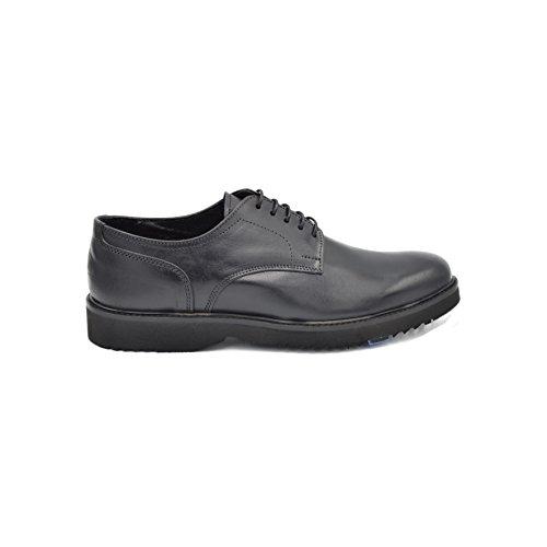 drudd Eliot001aw1701, chaussures à lacets homme Noir