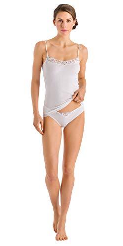 HANRO Women's Ella Spaghetti Camisole 72588, Off White, X-Small