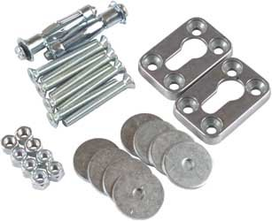 Fly Racing Wheel Chock Hardware Kit 0110192