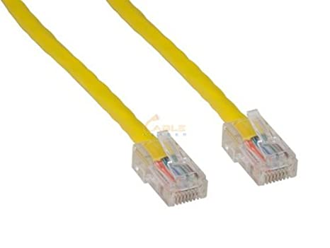 Cablelera 100 Network Patch Cable with Snagless Molded Boot ZNWN37YL-100 Yellow Comtop Connectivity Solutions Inc.