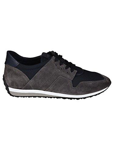 Tod's Sneaker in Suede e Tessuto Tecnico XXM70A0W900IV487GB Grigio Uomo