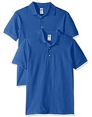 Gildan mens Ultra Cotton Pique Sport Shirt, 2-Pack Polo Shirt