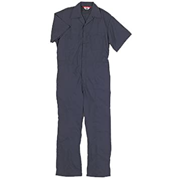 41925c9ce7520 Walls Work Men's Short Sleeve Poplin Non-Insulated Mechanic Coverall, Navy,  ...