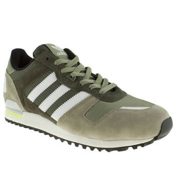 b97fa7e73faef Adidas Original Zx 700 Green White New Mens Suede Trainers Shoes Boots   Amazon.co.uk  Shoes   Bags