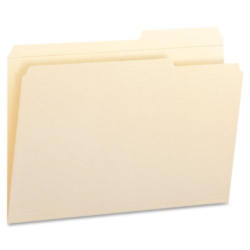 Smead File Folder, Reinforced 2/5-Cut Tab Right Position, Legal Size, Manila, 100 Per Box (15386)