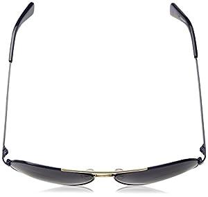 Cole Haan Ch6007s Aviator Sunglasses, Navy, 58 mm