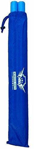 Martial Arts Armory Foam Padded Training Escrima Sticks with Case (Blue)