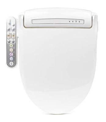 BioBidet Prestige BB-800 Elongated White Bidet Toilet Seat