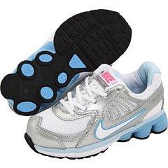 NIKE Womens air rift Trainers 315766 Sneakers Shoes (5.5 Toddler M, Light Bone Bright Mango 023) (Nike Toddler Dunk)