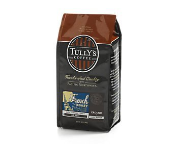 Tully's French Roast, Ground Coffee, 12oz. Bag