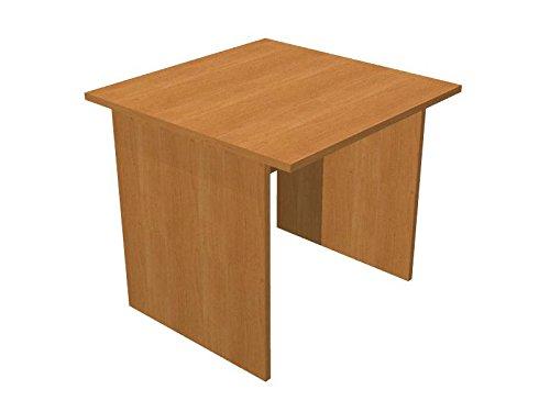 Ideapiu Escritorio Gris con Cadera melaminico Desk with Panel Legs ...