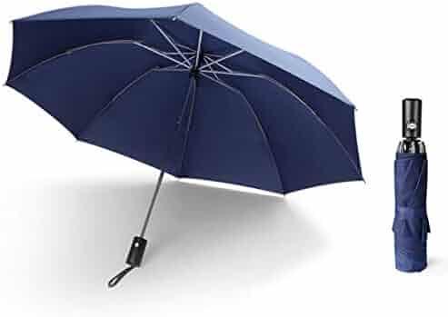 fc02f8c53 ekqw015l Travel Umbrella Windproof Umbrellas Sun Rain Umbrella for Men  Women and KidsPortable Fully