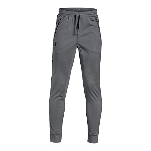 - Under Armour Boys' Pennant Tapered Pants, Graphite (042)/Black, Youth X-Large