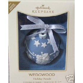 2007 Hallmark WedgWood Holiday Parade Limited Quantity Christmas Ornament by Keepsake Ornament