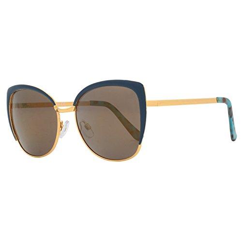VIVIENFANG Womens Oversized Semi-Rimless Cateye Sunglasses Polarized 100% UV400 Protection Shades 86447
