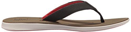 Reef Twinpin, Flip-Flop Uomo Tan/Red
