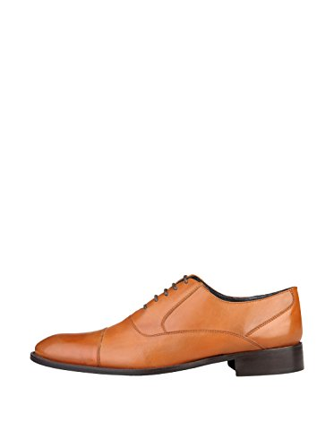 Daolo1T Homme Rochas EU Chaussures Lacets Marron 41 à de Ville pour SdZWHgR