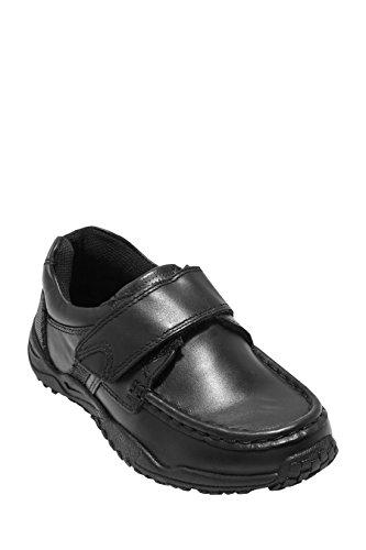 next Niños Júnior Zapatos Zapatillas Deportivos Tira Única (Niño Mayor) Negro