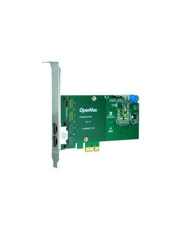 Amazon.com: openvox de230e 2 Port T1/E1/J1 Pri tarjeta PCI-e ...