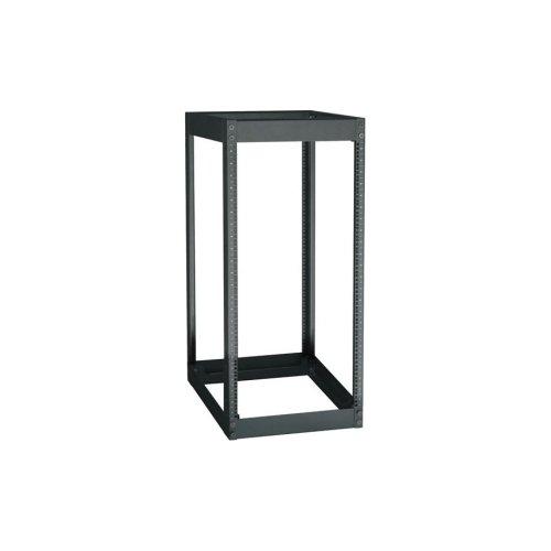 Black Box RM7003A-R3 15U OPEN RACK 4POST 19IN OPEN BLACK STEEL