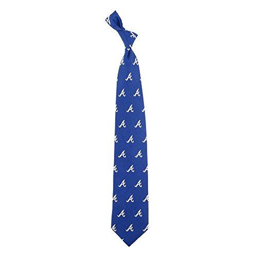 Braves Tie - Atlanta Braves Prep Silk Necktie