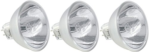 EiKO ENX ANSI Code Lamp (3-Pack), 82 Voltage Rating, 360 Watts, 4.39 Amps, GY5.3 Base, MR16 Bulb, CC-8 Filament, 1.75'/44.5mm MOL, 2.00'/50.8mm MOD, CT deg K 3300, 75 Rated Life