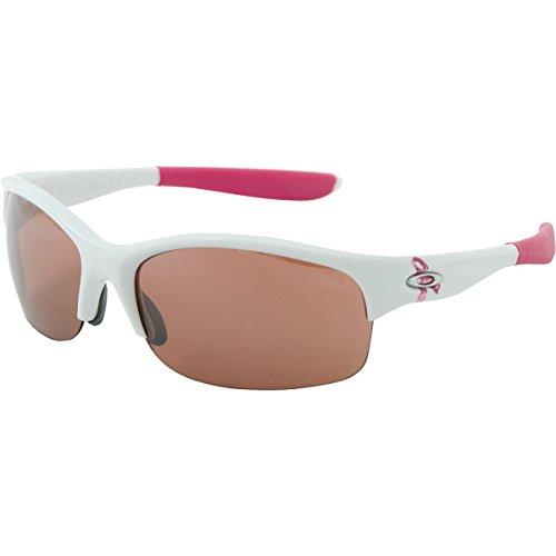 Oakley Womens Commit Iridium Rimless Sunglasses,Polished White Frame/G20 Black Lens,One Size