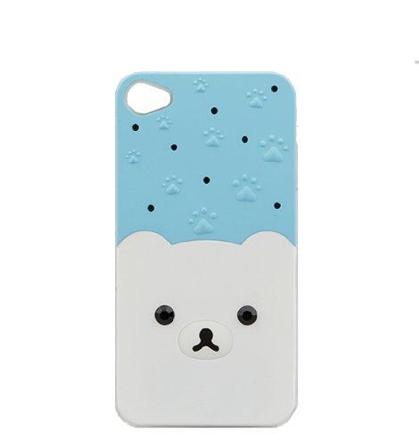 Monkey Cases® iPhone 4 / 4s - LED - Leuchtet - Hardcase - TEDDY - ICEBEAR - PUPPY - BLING - Handyhülle - ORIGINAL - NEU/OVP