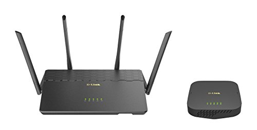 Covr AC3900 Whole Home Wi-Fi System - Coverage up to 6,000 sq. ft., Wi-Fi Router and Seamless Extender with MU-MIMO () - D-Link COVR-3902-US