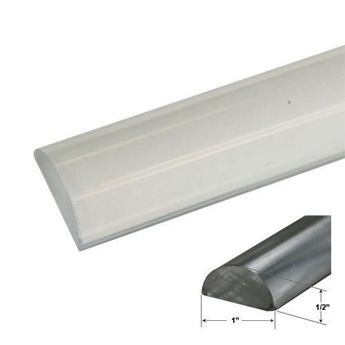 1\  Wide by 1/2\  High - Clear Acrylic Frameless Shower Threshold - 35 in long - Shower Doors - Amazon.com  sc 1 st  Amazon.com & 1\