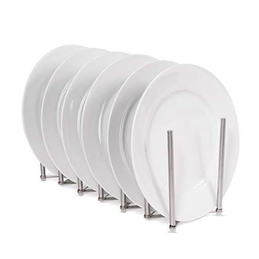 Kitchen BGT Stal Pots and Pans Organizer for Cabinet, Pot Lid & Plate Holder Adjustable Kitchen Organization Unit Stainless… pot lid holders