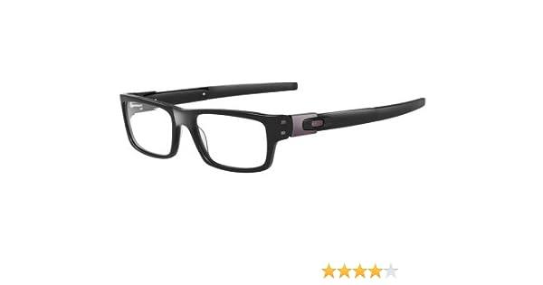 adddbd1fa7 Amazon.com  Oakley Muffler Black Prescription Eye Glasses Size 53  Health    Personal Care