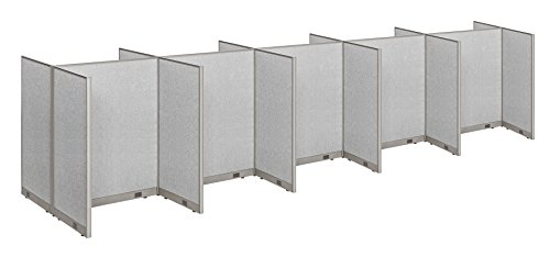 GOF Office Dobule Sided Cubicle 10 Stations 60D x 240W X 60H / Office Partition Wall Room Divider Office Divider by GOF