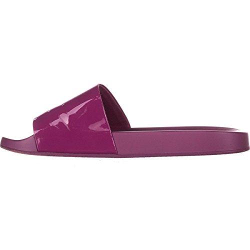 ALDO Womens Maurizia Open Toe Casual Slide Sandals, Fushia, Size 6.0