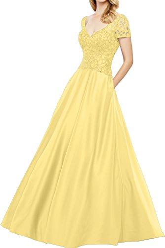 Ivydressing - Vestido - trapecio - para mujer amarillo