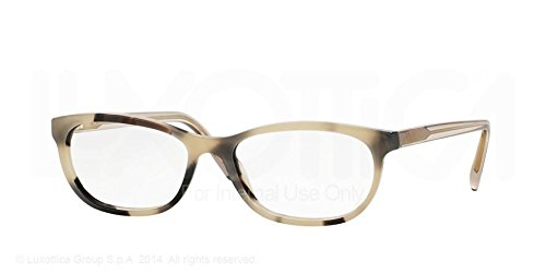Burberry Eyeglasses BE2180 3502 Light Horn 54 16 - Burberry Collection