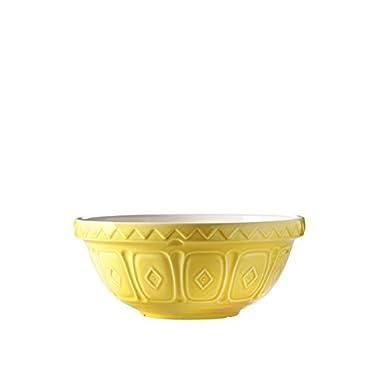 Mason Cash Colored Mixing Bowl, Yellow, 2.85-Quart