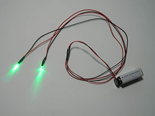 24 inch, Battery Operated, Green Led Eyes For Masks, Skulls and Halloween Props]()
