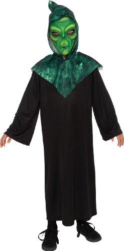 Alien Costume, Green, Large (Light Up Alien)