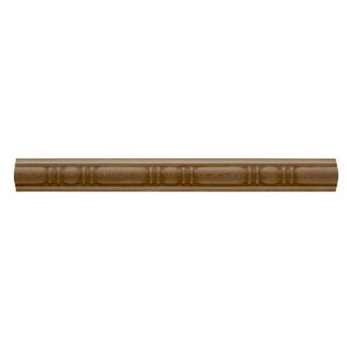 1 3/8''H x 13/16''P x 8'L (4'' Repeat) Molding Hudson, Red Oak by Enkeboll Designs