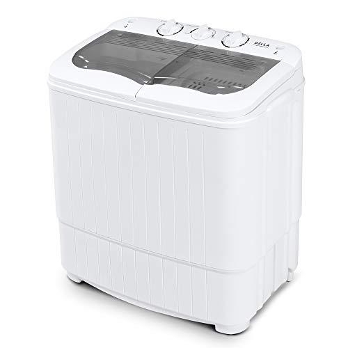 DELLA Della Mini Washing Machine Portable Compact Washer and Spin Dry Cycle image