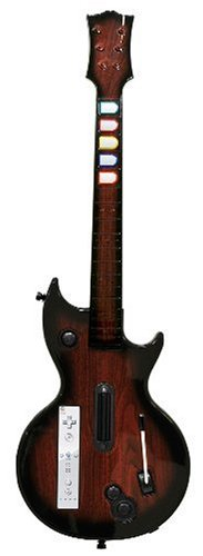 Wii Shred Ax  Guitar - Mahogany