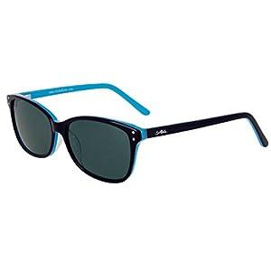 "Aloha Eyewear ""Tek Spex 1008"" Women's Progressive Bifocal Polarized NO LINE Reader Sunglasses (Blue w/ Smoke Lens +2.50)"