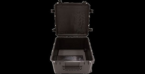 SKB 3i-2424-14BC iSeries Waterproof Case 24'' x 24'' x 14'' with wheels cubed foam