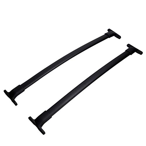 Rails Roof Ford (AUXMART Roof Rack Cross Bars for 2016–2018 Ford Explorer (Factory Roof Side Rails Needed))