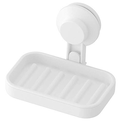 IKEA AISA TISKEN Soap Dish with Suction Cup White ()