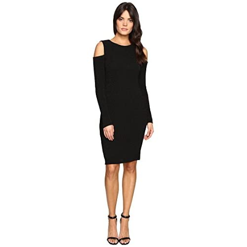 74856a5007d3e low-cost Calvin Klein Womens Long Sleeve Cold Shoulder Dress ...