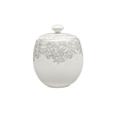 Monsoon 10 oz Sugar Bowl with Lid Denby Porcelain Sugar Bowl